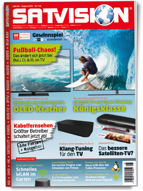 SATVISION Cover August 2018