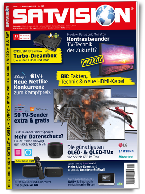 SATVISION Cover November 2019
