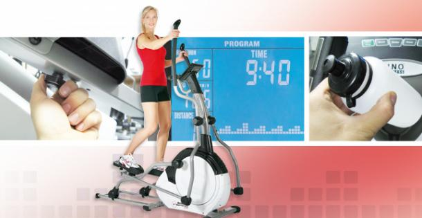Crosstrainer im Training