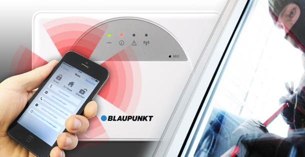 BLAUPUNKT SMART GSM ALARM SA 2500 KIT im Test