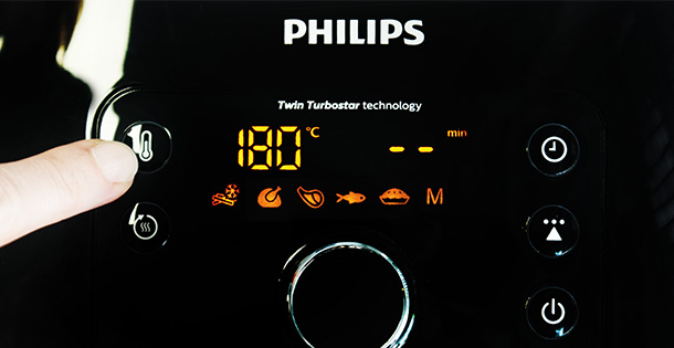 philips airfryer xxl hd9652 90 display