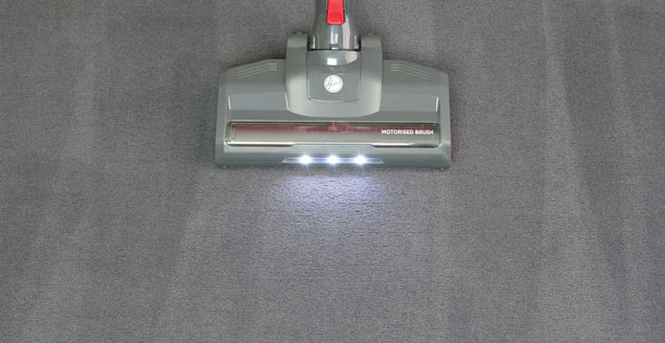 Hoover HF122GPT: Teppich